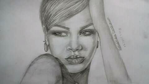 Rihanna by Rosalindadershmuk